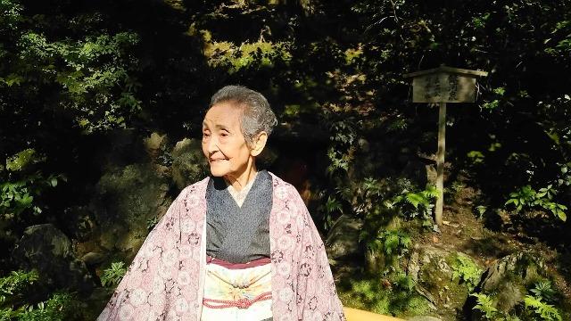 『母との散策@金閣寺~堂本印象美術館』;02
