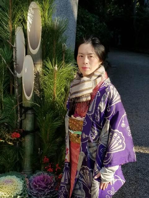 『謹賀新年 初詣にて』sakuraboruzoiさん投稿;02