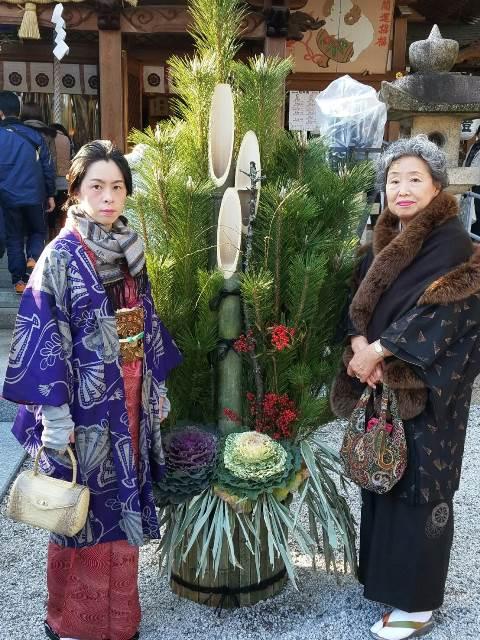 『謹賀新年 初詣にて』sakuraboruzoiさん投稿;01