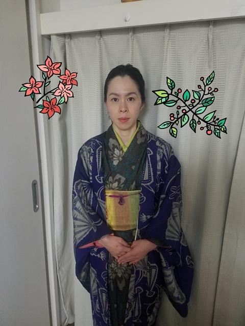 『なるべく和服で出掛けたい』sakuraboruzoiさん投稿;01
